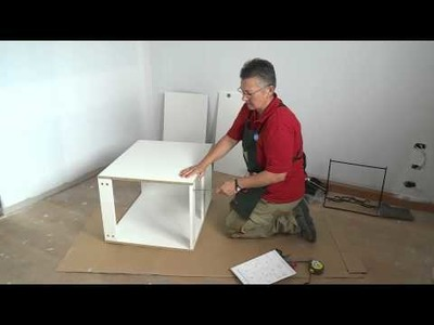 How To Assemble A Linen Chute Cupboard - DIY At Bunnings