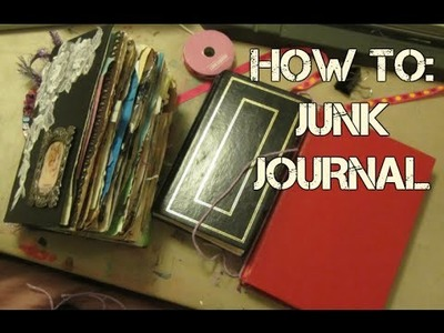 LET'S MAKE A JUNK JOURNAL | SUPER EASY | DIY | SUGAR
