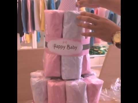 "Lullaby.vn: ""DIY Blanket Cake"""