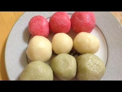 Make Delicious Dango Japanese Sweet Dumplings - DIY Food & Drinks - Guidecentral