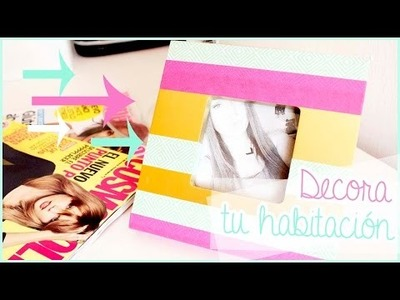 DIY: DECORA TU HABITACIÓN ♥  ROOM DECOR!