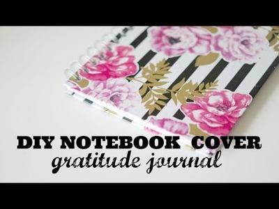 DIY Notebook Cover | Gratitude Journal