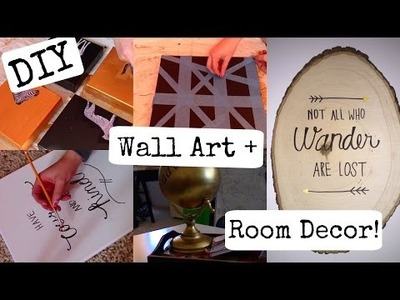 DIY Wall Art + Room Decor!