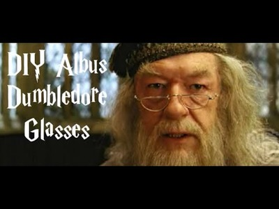 Albus Dumbledore DIY glasses of Harry Potter