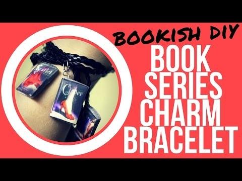 BOOKISH DIY   series charm bracelet