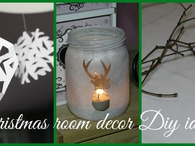 ❄ CHRISTMAS ROOM DECOR DIY IDEAS! ❄ collab w. vdabrovska&ola sidorowska
