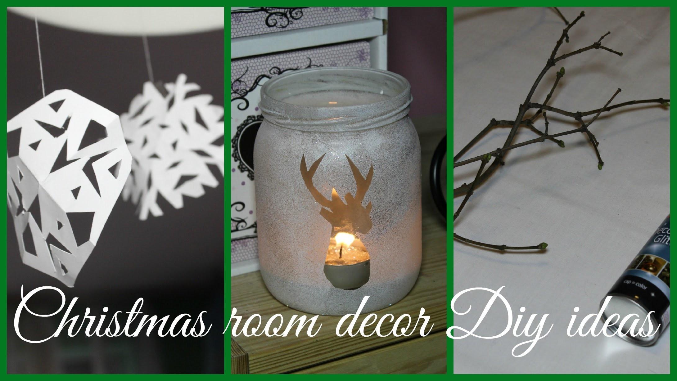 ❄ CHRISTMAS ROOM DECOR DIY IDEAS! ❄ collab w. vdabrovska&ola sidorowska