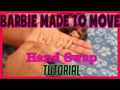 DIY Barbie Made To Move Hand Swap Tutorial - For Ball Jointed Articulated Fashion Dolls