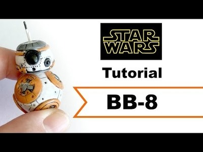 DIY BB-8 Droid All Clay |Polymer Clay| Tutorial [COLLAB] w. MsParkPark