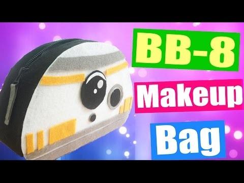DIY BB-8 Droid Makeup Bag & Pencil Case | NO SEW Project