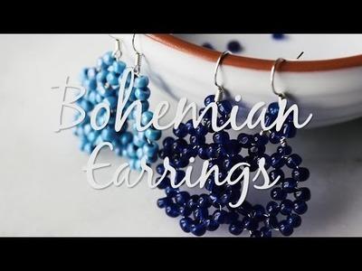 DIY Bohemian Earrings - Boucles d'oreilles boho