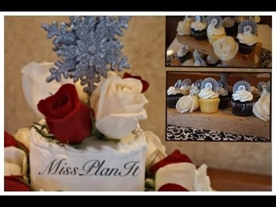 DIY: Build this Rustic Romantic Cupcake Stand for $20.00!  Part 2