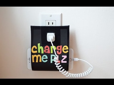 DIY Charging Cell Phone Holder