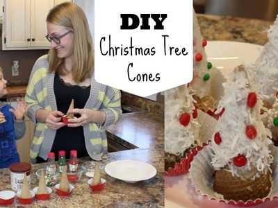 DIY Christmas Tree Cones! | Cooking with Carson
