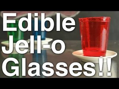 DIY Edible Jell-o Glasses!!
