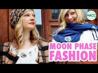 DIY Fashion: Moon Phase Shirt & Scarf