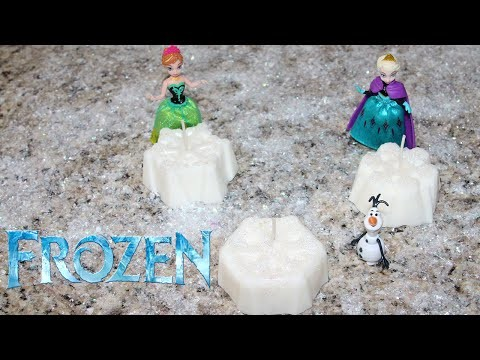 DIY Frozen Snowflake Candle ♥