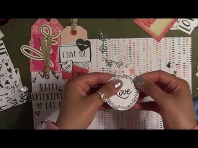 """DIY Handmade Gift Tags using """"Hello Love"""" Paper Pad   Valentine's Day   Easy and Simple"""