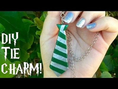 DIY Harry Potter Hogwarts house tie charm
