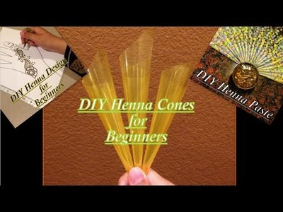 DIY Henna Cones || Henna for Beginners