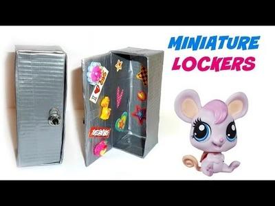 DIY LPS Lockers - DIY LPS Crafts & Stuff