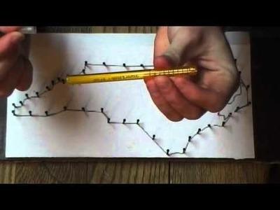 DIY-North Carolina String Art Tutorial