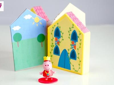 DIY Peppa Pig's Toy Castle