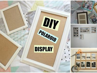 DIY Polaroid Display.Frame Wall | KatChats
