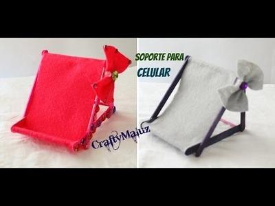 ♥DIY : Soporte para Celular. Phone Chair Holder
