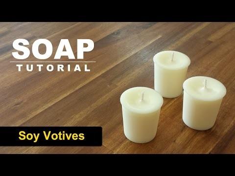 DIY Soy Votives, How to make soy votives!