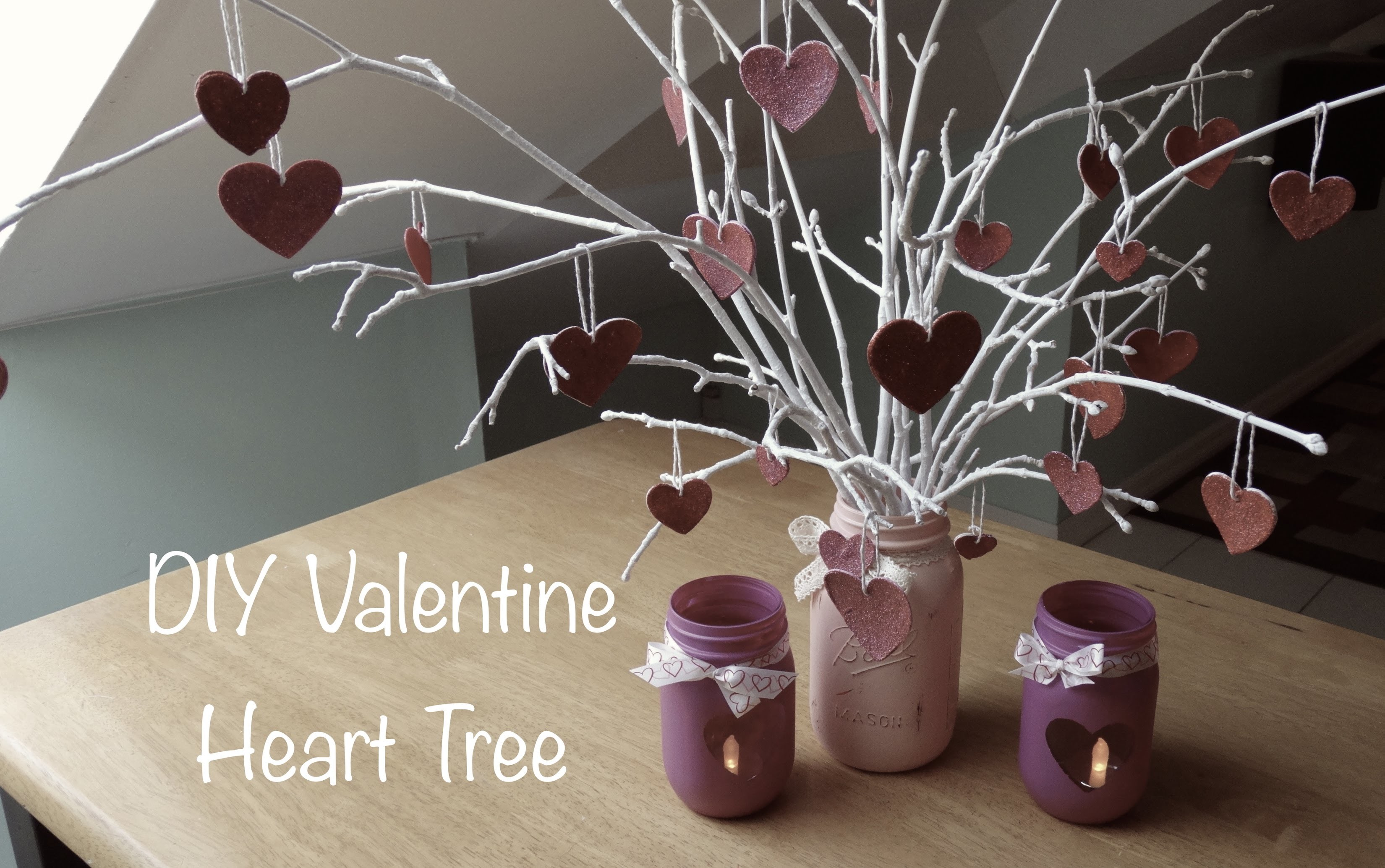DIY | Valentine Heart Tree :: Gifts and Decor
