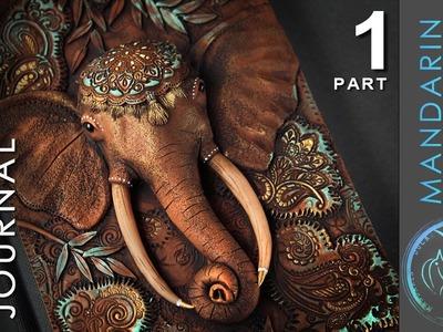 ELEPHANT JOURNAL TUTORIAL Part 1 - polymer clay by Mandarin Duck