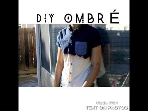 How to: D.I.Y (OMBRÉ) Shirt Tutorial | TeenStyle