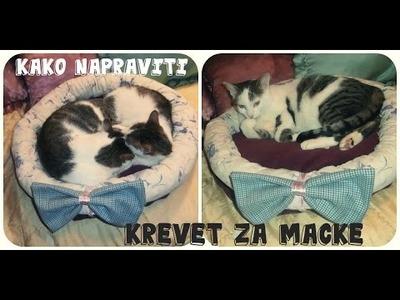 Kako napraviti krevet za macke. DIY BED FOR CATS. CAMA PARA GATOS