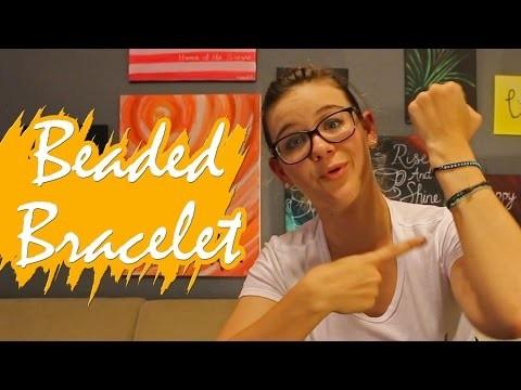 Kate Creates DIY Seed Beaded Bracelet