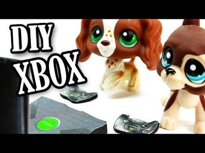 LPS - DIY Xbox Game Console & Controllers