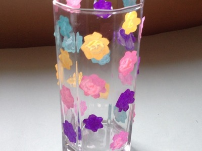 Make a Recycled Glass Candle Holder - DIY Home - Guidecentral