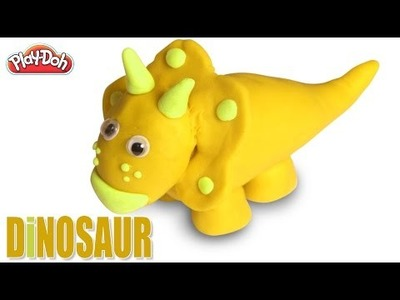 Play Doh Dinosaur | How To Make Play Doh Dinosaur | DIY Play Doh Dinosaur | Dinosaur Train
