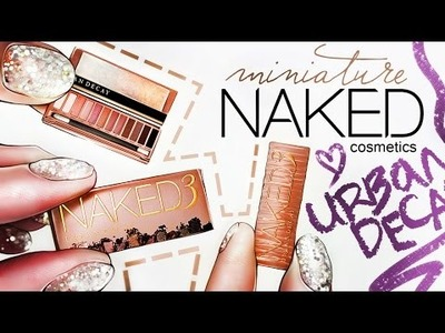 Realistic Miniature NAKED Eyes Palette 3 Tutorial! | DollHouse DIY ❤