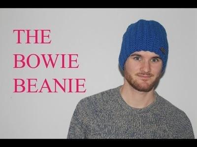 Simple Easy Diy Beginner Crochet Bowie Beanie Tutorial