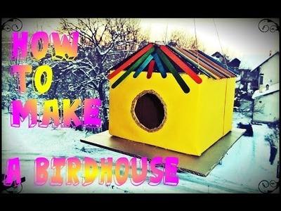 Uradi sam - Kucica za ptice. DIY-How to make a birdhouse. Casa para pájaros