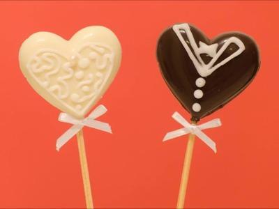 COmo hacer Chocolates para novios - How to do a Wedding souvenir chocolates