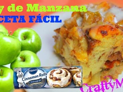 Cómo hacer  Pay de Manzana al Horno. How to make Apple Pie Bake
