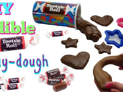 DIY Edible Tootsie Roll Play-dough | How to make Tootsie Roll Play-dough| plastilina comestible