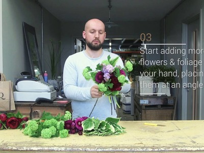 How to build a beautiful bouquet - with McQueens