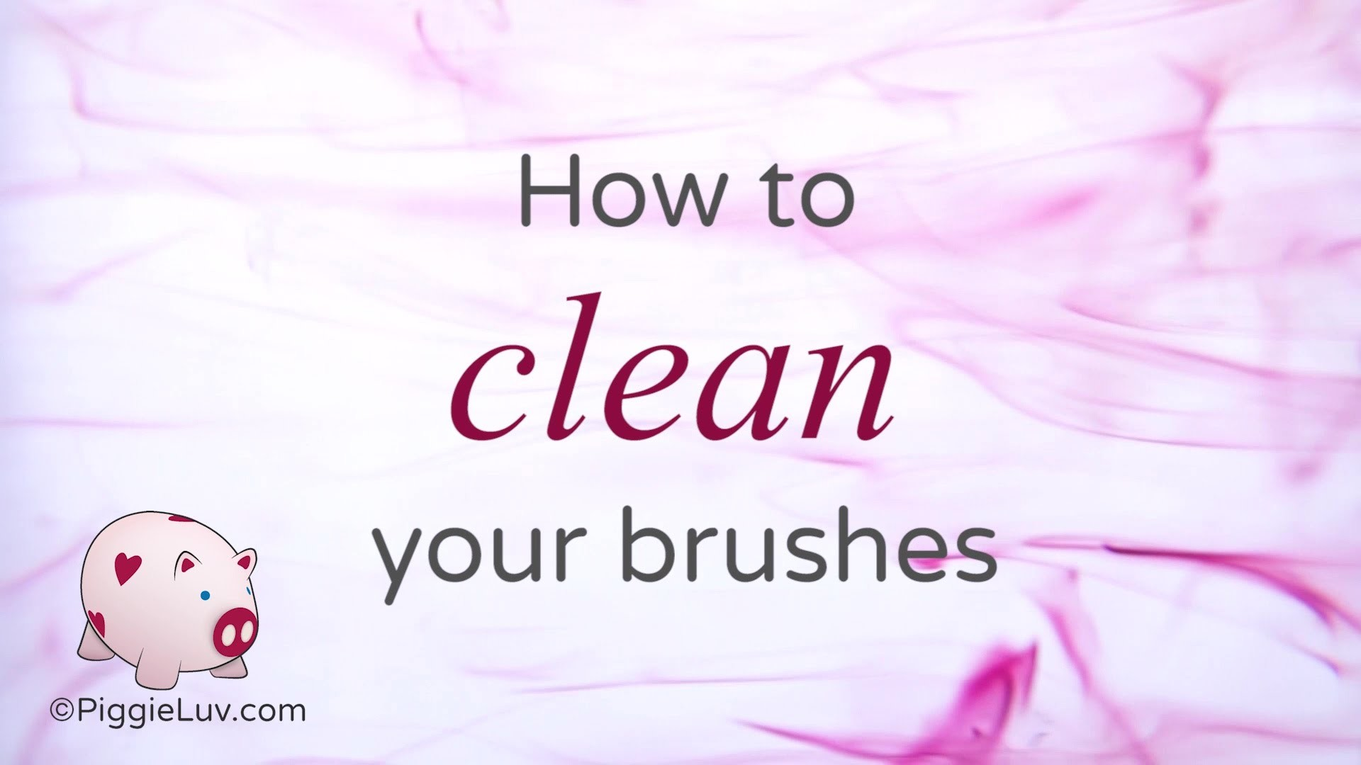 How to care for your nail art brushes