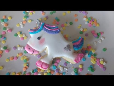 How to Decorate Unicorn Cookies