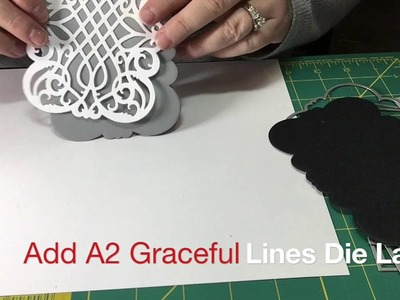 How to Die Cut a Shaped Card