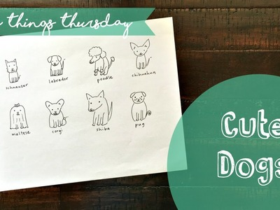 How to Draw Cute Dogs
