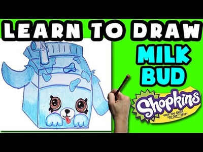 How To Draw Shopkins Petkins: Milk Bud - Learn How To Draw Petkins Shopkins, Drawing Shopkins Petkin